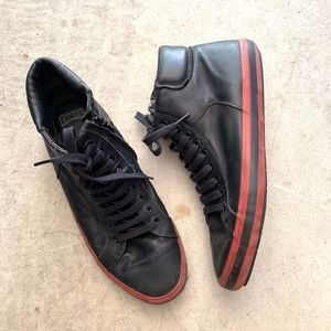 Camper Lace-up/Zippered Mid Top Fashion Sneakers